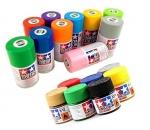 Farben und Spray